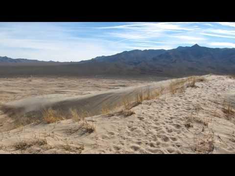 Kelso Dunes panaroma Mojave National Reserve, California