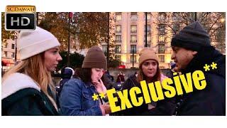 **Exclusive** Punish himself!? Brother Mansur & American Girls | Speakers Corner  | Hyde Park