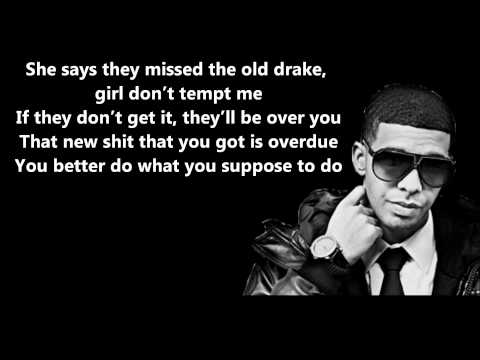 Drake - Headlines // Lyrics On Screen [HD]