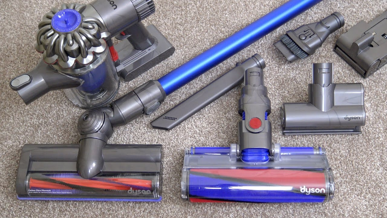 Dyson V6 Fluffy Cordless Vacuum Cleaner Unboxing & First Look