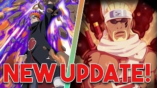 Killer Bee Next Blazing Fest Character!!!!!Tendo Pain Released! | Naruto Shippuden Blazing