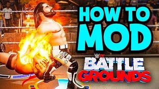 How To Mod WWE 2K Battlegrounds! (READ DESCRIPTION)