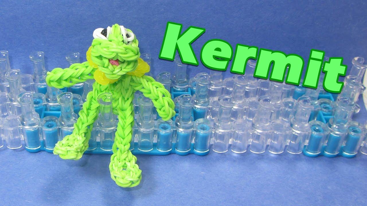 Rainbow Loom Kermit The Frog Charm Muppets Youtube