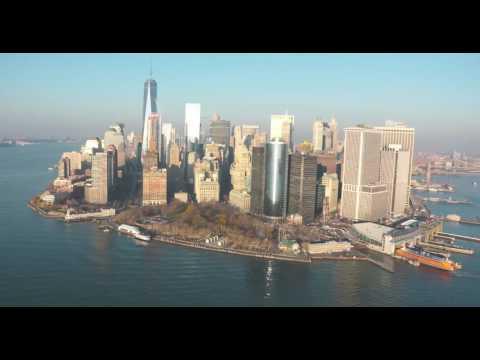 new york aerial financial dist H264HD1080