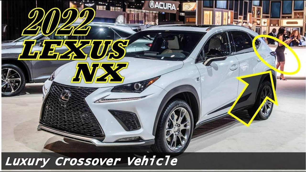 3 Lexus NX : Will be Produced in Canada - Luxury Crossover Vehicle
