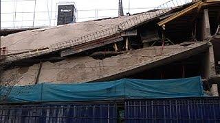 Se derrumban losas de edificio en construcción de Vitacura thumbnail