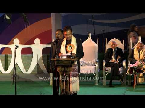 Parliamentary Affairs Minister Pawan Singh Ghatowar at Sangai Fest - 2013