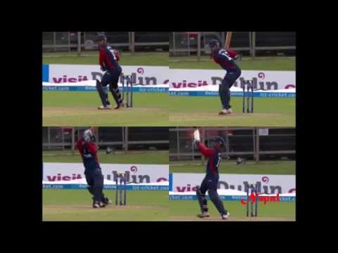 Siddhant Lohani Great Match Against Jersey(WCC Qualifier Match 2016)