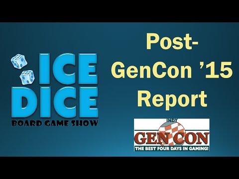 Ice Dice BGS: Post-GenCon '15 Report