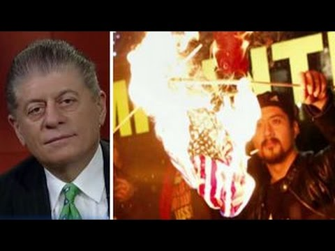 Judge Napolitano On The Constitutionality Of Flag-burning