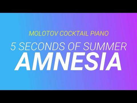 Amnesia cover piano