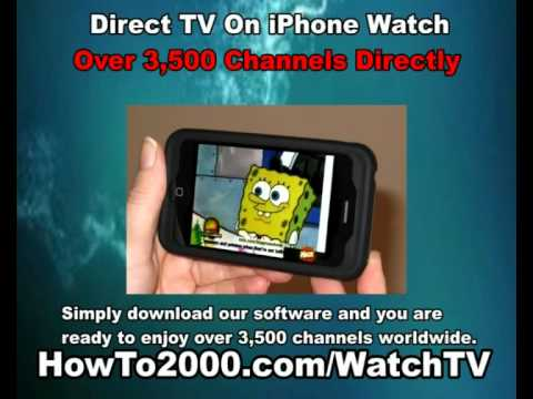 how to watch tv on iphone