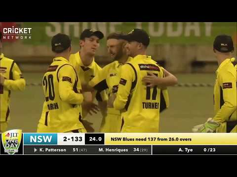 Western Australia v New South Wales - JLT Cup 2017