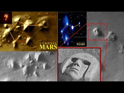 Alien Tomb & Pyramid Complex Located On Mars?