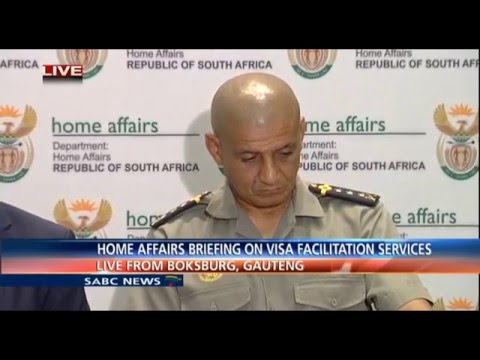 Home Affairs media briefing on Visa facilitation services