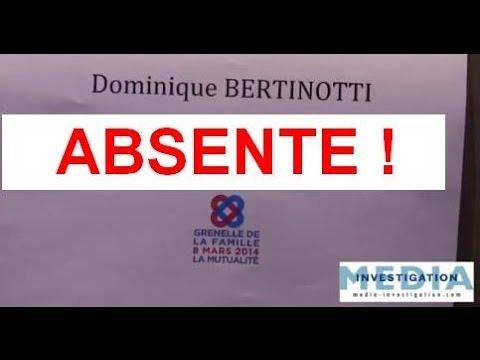 Bertinotti absente au Grenelle de la famille : rattrapage en ligne !