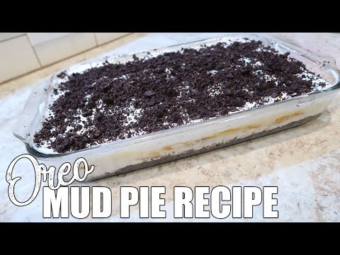 How To Make Oreo Mud Pie | No Bake Cook With Me | Easy Dessert