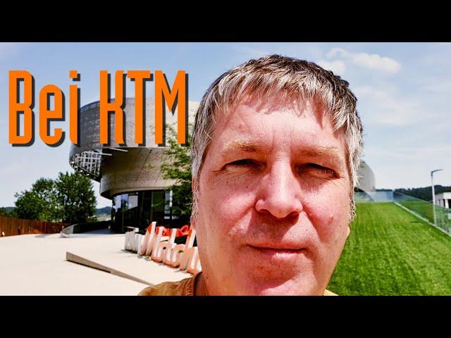 Besuch der KTM Motohall