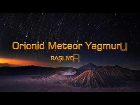 Orionid Meteor Yağmuru(21-22 EKİM)