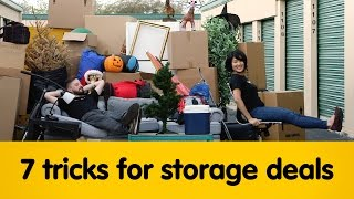 7 Tricks To Finding The BEST Storage Deals!