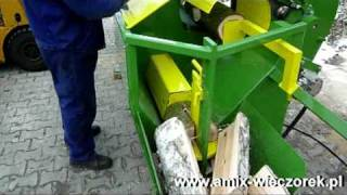 Piło-Łuparka do drewna kominkowego