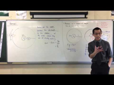 Introduction to Radians (3 of 3: Definition + Why Radians Aren