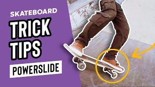 How to Powerslide / Reטert Skateboarding – Step by Step Tutorial – SkateHut Trick Tips