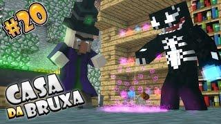 Casa da Bruxa - #20 Cave-In MINECRAFT
