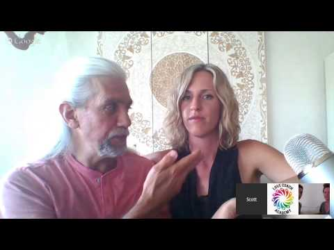 Compassionate Communication in Action (see couples get live coaching)