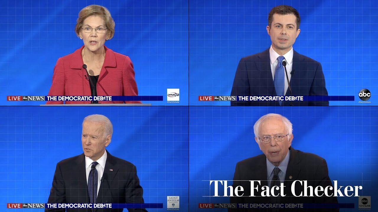 Fact-checking the eighth Democratic debate | The Fact Checker