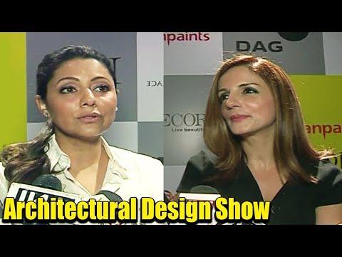 Shahrukh Khan's wife Gauri Khan & Hrithik Roshan's Ex wife Sussanne Khan Come Together @ Design Show