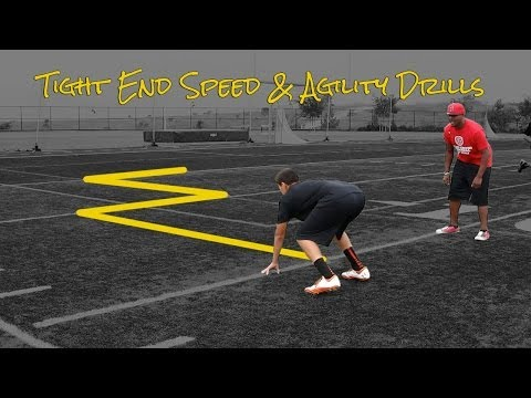 Tight End Speed and Agility Drills