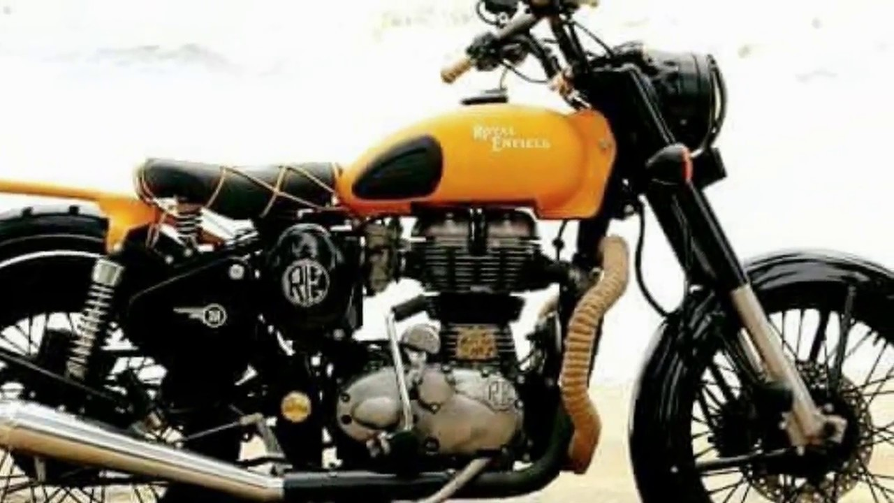 modified bike royal enfield classic 350 designing modified bullet
