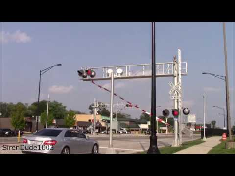 Irving Park Rd Railroad Crossing - Wood Dale, IL