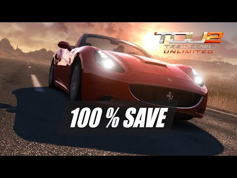 Test Drive Unlimited 2 + DLC's - 100% Save Game PC [Download in description]