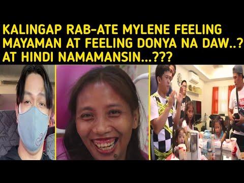 KALINGAP RAB-ATE MYLENE FEELING MAYAMAN AT DONYA NA DAW TOTOO BA? Val Santos Matubang Ate Edna Vlogs -  (2020)