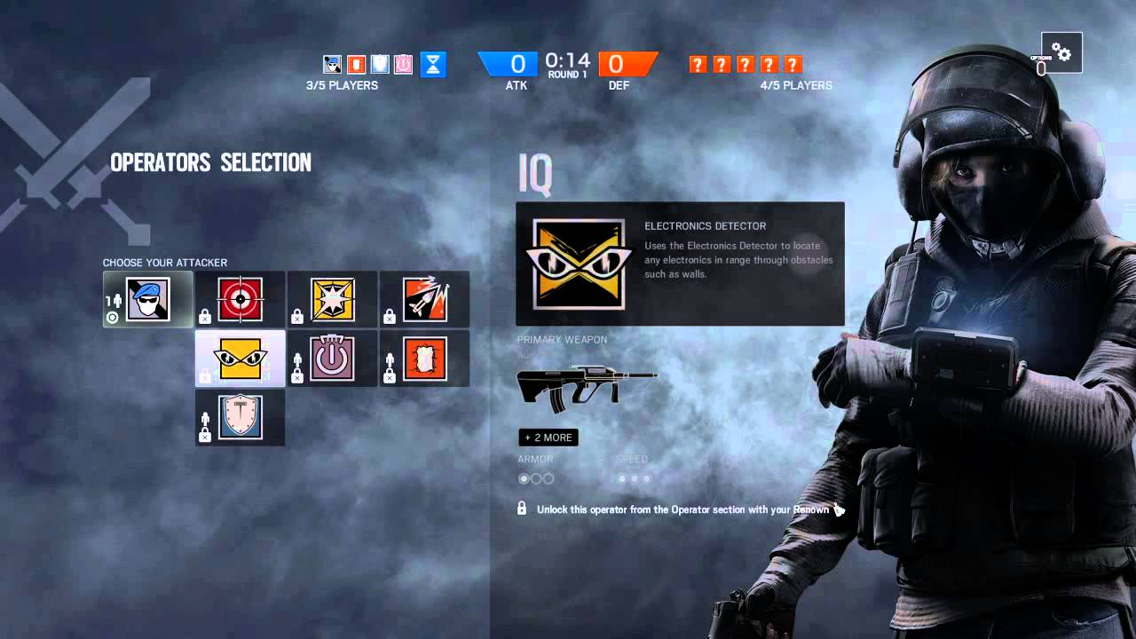 how to change picture on rainbow six seige