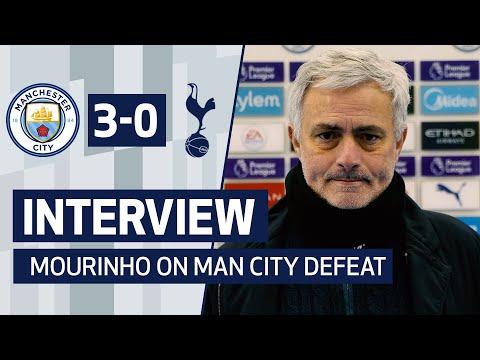 INTERVIEW | Jose Mourinho on Man City Defeat
