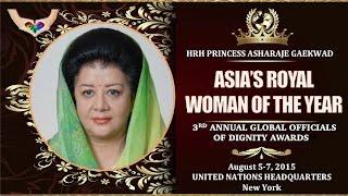 Hrh Princess Asharaje Gaekwad