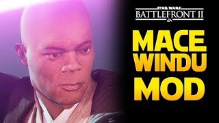 MACE WINDU MOD! Star Wars Battlefront 2 PL