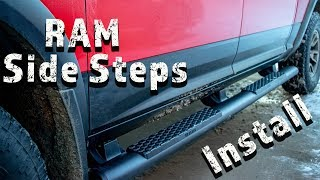 Ram Truck Mopar Side Tube Steps / Running Boards Install And Review
