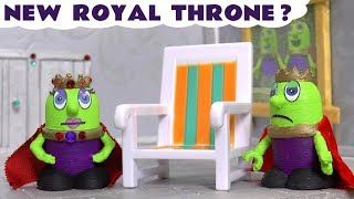 Funny Funlings NEW Royal Throne with Thomas The Tank Engine fun toy story for kids TT4U