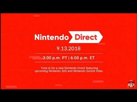 Reaction to 9/13/18 Nintendo Direct