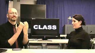 American Sign Language (ASL) Lesson 04