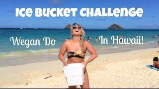 Wegan Do ALS Ice Bucket Challenge In Hawaii!