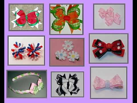 learn make hair bows