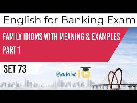 Learn English for Bank Exams Set 73, Improve your English for SBI IBPS RBI PO & Clerk Exams