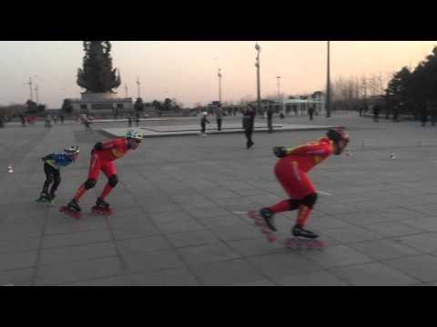 Inline skating in Tangshan