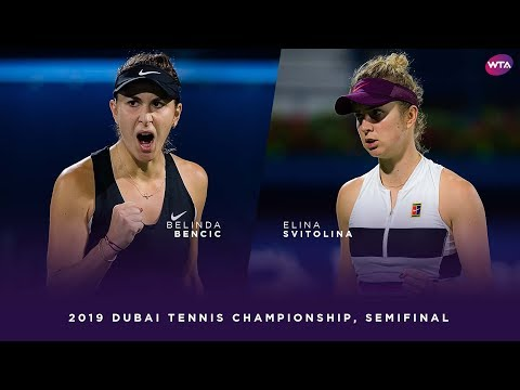 Belinda Bencic vs. Elina Svitolina | 2019 Dubai Semifinal | WTA Highlights