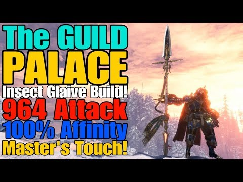 MHW: Iceborne - The Guild Palace Insect Glaive Build! (Royal March Banner)